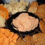 Cheese, Crackers and Crab Dip